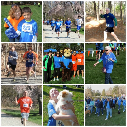 The MOMs Club of Easton Sponsors 'Kid Corner' at Outrunning Homelessness 2014