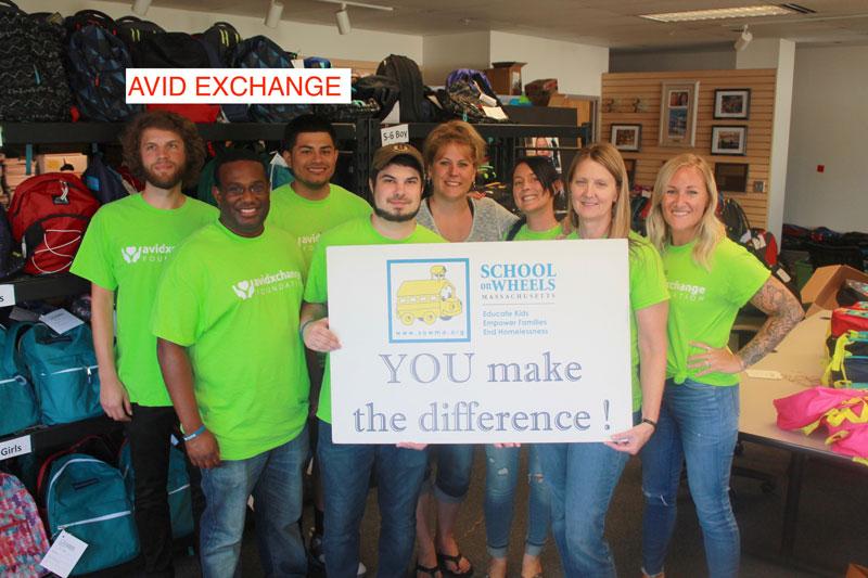 community sponsors Avid Exchange